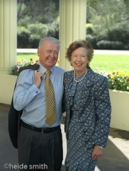 Sir William and Lady Deane - 2001 - LNA025