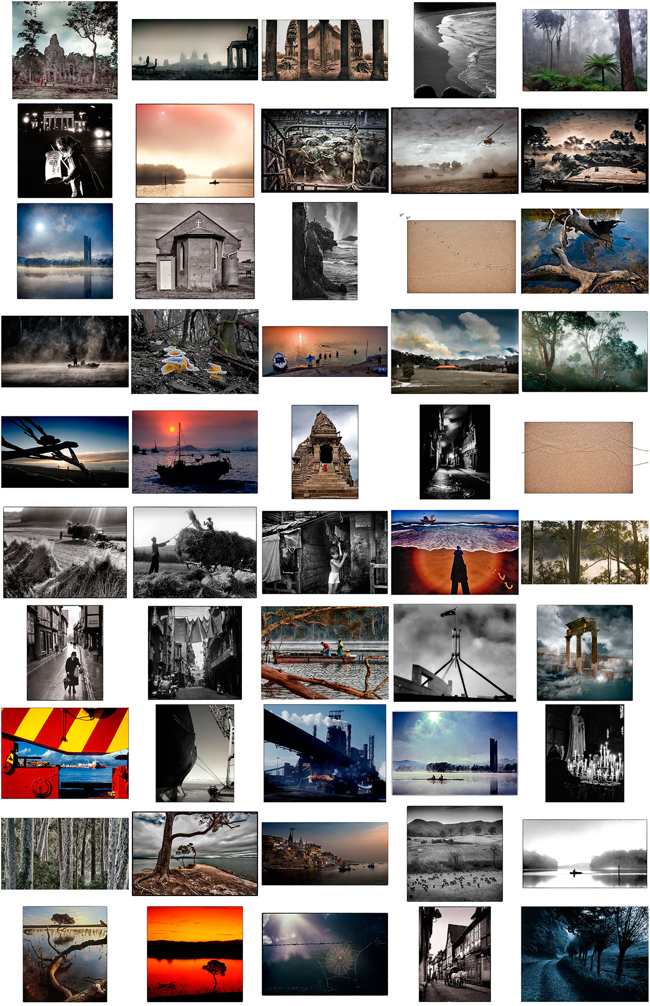 Contact sheet for Limited Edition Landscape Folio 1/3