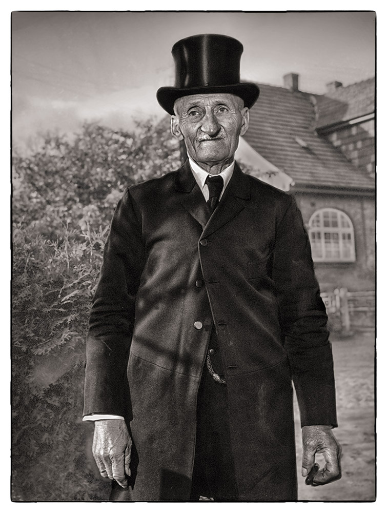 great uncle Albert, at my grand fathers funeral in 1951