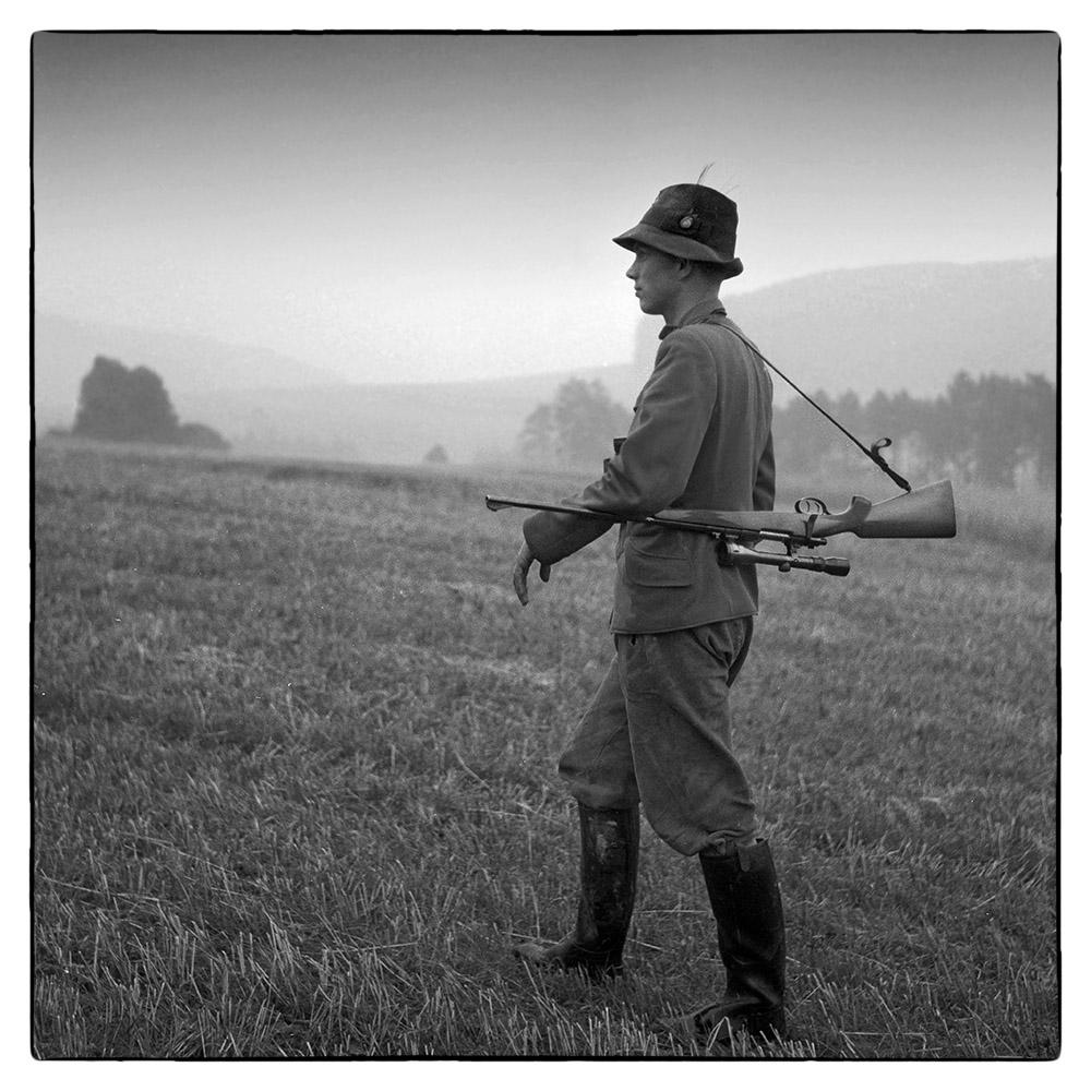 A forester near Hameln 1961
